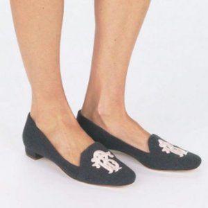 NEW TORY BURCH Monogram Loafer Flats